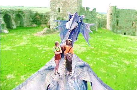 Knightmare Series 5 Team 7. Elita addresses Christopher after Smirkenorff lands in Level 2.