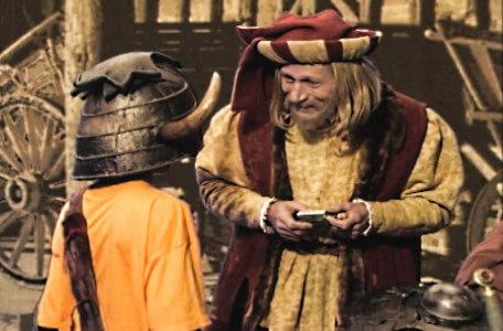 Knightmare Series 5 Team 7. Christopher meets Julius Scaramonger in Level 2.