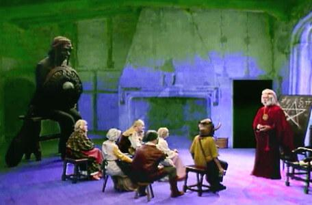 Knightmare Series 6 Team 6. Sophia joins a class for Hordriss's examination.