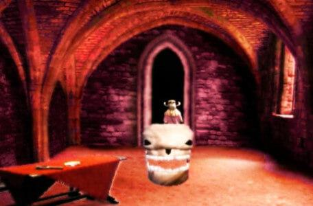 Knightmare Series 6 Team 4. January is chased from the undercroft by a stormgeist.