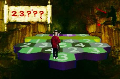 Knightmare Series 6 Team 5. Ben manoeuvres through the Great Causeway.