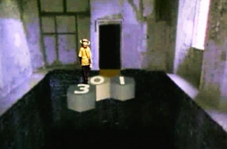 Knightmare Series 6 Team 6. Sophia reaches a sticky point towards the end of the causeway.