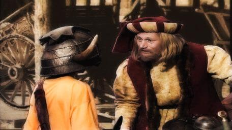 Julius Scaramonger, a merchant played by Rayner Bourton in Series 5 of Knightmare (1991).
