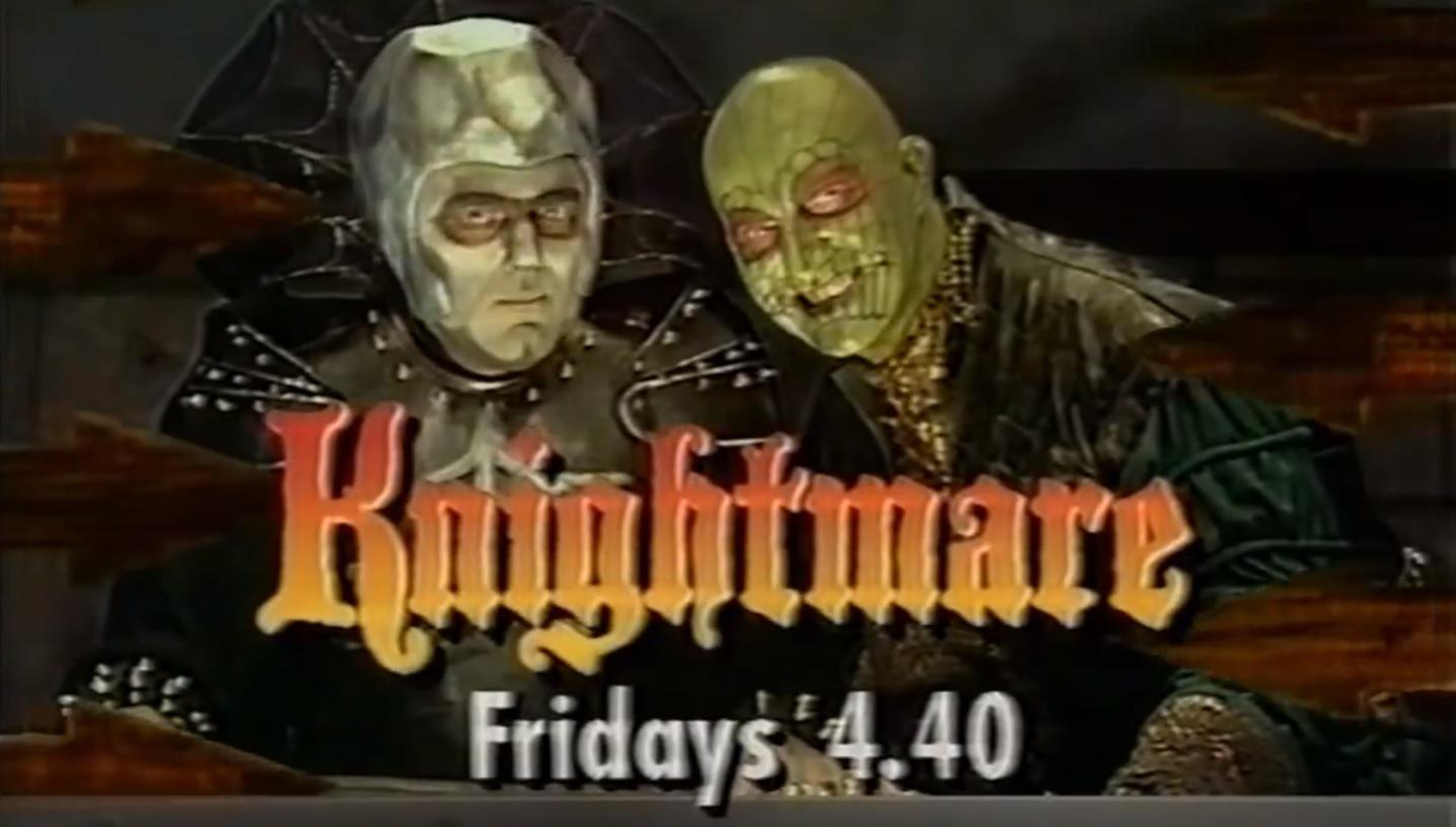 CITV 1993 advert for Knightmare with Lord Fear and Lissard