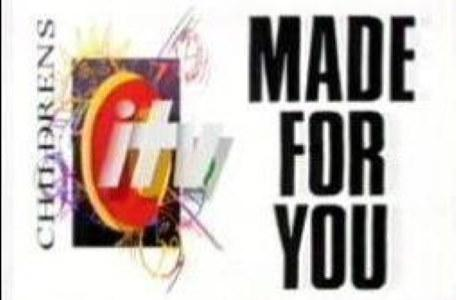 Children's ITV 1993: A 'Made for You' trailer sequence (white background)