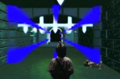 Knightmare Series 7 Team 7. Barry encounters a flashing barrier of anti-magic in Level 3.
