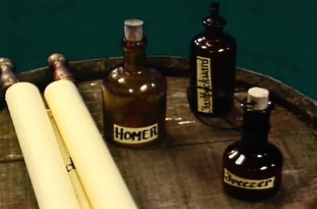 Knightmare Series 7 Team 7. The Level 3 clues are a set of potions, including Homer and Freezer.