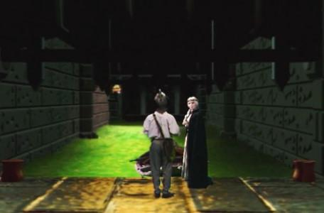 Knightmare Series 7 Team 7. Barry meets Greystagg at the Sewers of Goth.