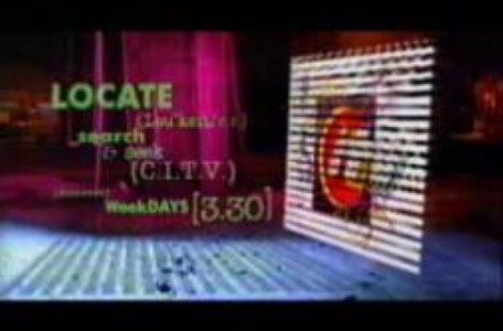 Children's ITV 1994: A 'locate' campaign takes its influence from Knightmare and VR technology.