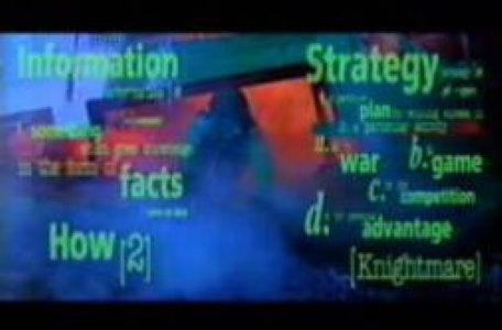 Children's ITV 1994: a conceptual word-cloud trailer to show the variety in the programming.